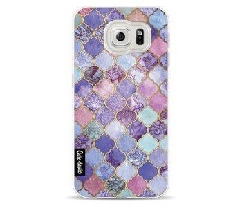Purple Moroccan Tiles - Samsung Galaxy S6