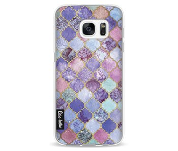 Purple Moroccan Tiles - Samsung Galaxy S7