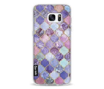 Purple Moroccan Tiles - Samsung Galaxy S7 Edge