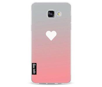 Peach Heart Fade - Samsung Galaxy A5 (2016)