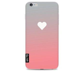 Peach Heart Fade - Apple iPhone 6 Plus / 6s Plus