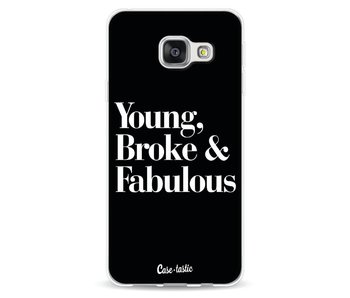 Young Broke and Fabulous Black - Samsung Galaxy A3 (2016)