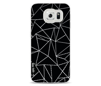 Abstract Dotted Lines Black - Samsung Galaxy S6