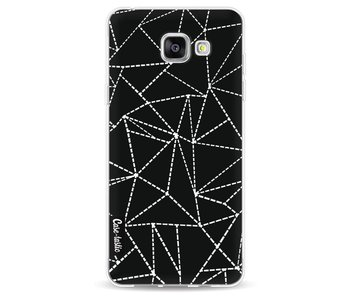 Abstract Dotted Lines Black - Samsung Galaxy A5 (2016)