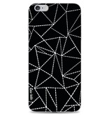 Casetastic Softcover Apple iPhone 6 Plus / 6s Plus - Abstract Dotted Lines Black
