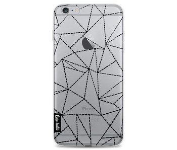 Abstract Dotted Lines Black Transparent - Apple iPhone 6 Plus / 6s Plus