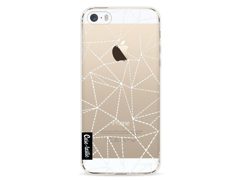 Casetastic Softcover Apple iPhone 5 / 5s / SE - Abstract Dotted Lines Transparent