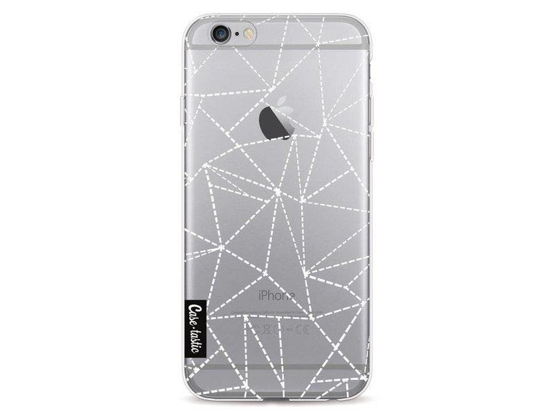 Casetastic Softcover Apple iPhone 6 / 6s  - Abstract Dotted Lines Transparent
