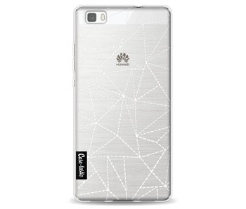 Abstract Dotted Lines Transparent - Huawei P8 Lite