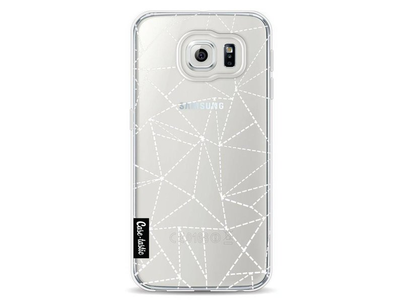 Casetastic Softcover Samsung Galaxy S6 - Abstract Dotted Lines Transparent