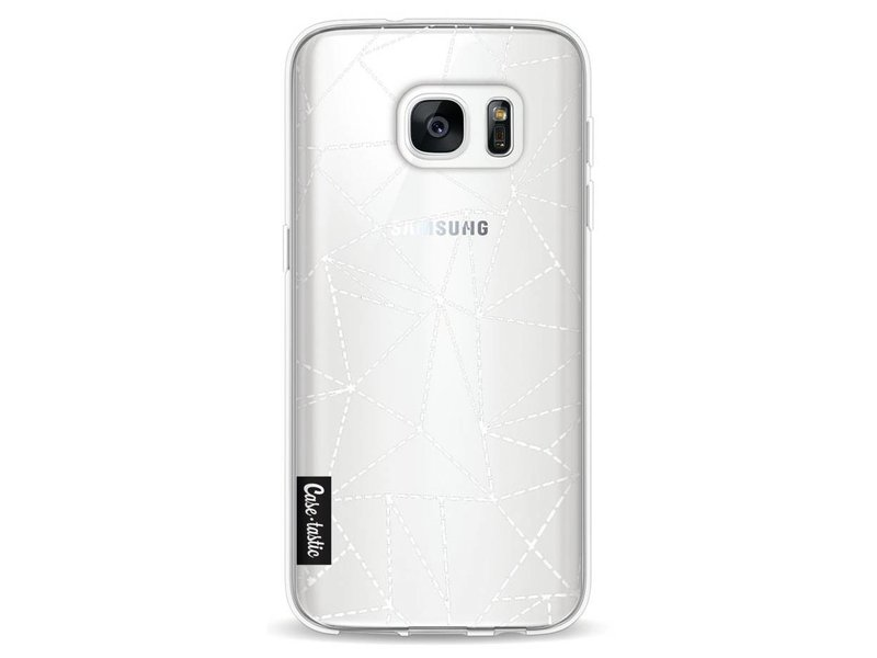 Casetastic Softcover Samsung Galaxy S7 - Abstract Dotted Lines Transparent