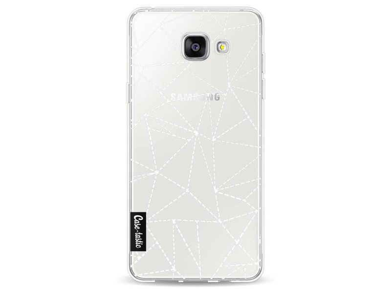 Casetastic Softcover Samsung Galaxy A5 (2016) - Abstract Dotted Lines Transparent