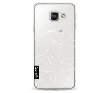 Abstract Dotted Lines Transparent - Samsung Galaxy A3 (2016)