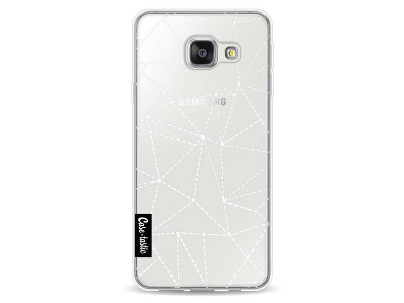 Casetastic Softcover Samsung Galaxy A3 (2016) - Abstract Dotted Lines Transparent