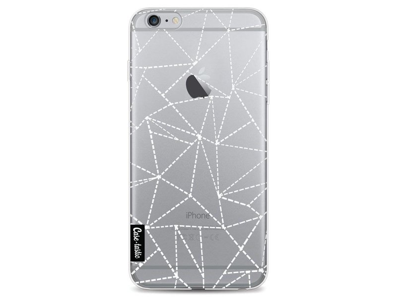 Casetastic Softcover Apple iPhone 6 Plus / 6s Plus - Abstract Dotted Lines Transparent