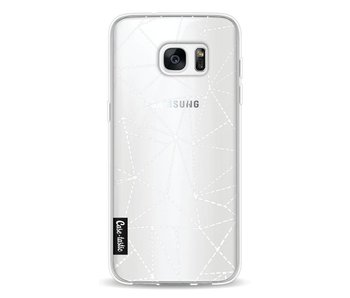 Abstract Dotted Lines Transparent - Samsung Galaxy S7 Edge