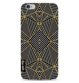 Casetastic Softcover Apple iPhone 6 / 6s  - Abstraction Half Gold
