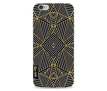 Abstraction Half Gold - Apple iPhone 6 / 6s