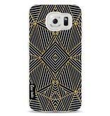 Casetastic Softcover Samsung Galaxy S6 - Abstraction Half Gold