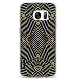 Casetastic Softcover Samsung Galaxy S7 - Abstraction Half Gold
