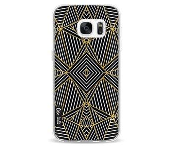 Abstraction Half Gold - Samsung Galaxy S7