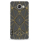 Casetastic Softcover Samsung Galaxy A5 (2016) - Abstraction Half Gold