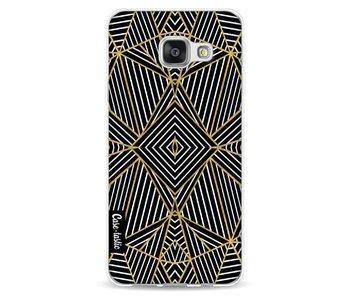 Abstraction Half Gold - Samsung Galaxy A3 (2016)