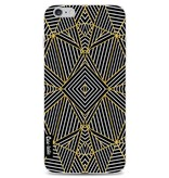 Casetastic Softcover Apple iPhone 6 Plus / 6s Plus - Abstraction Half Gold