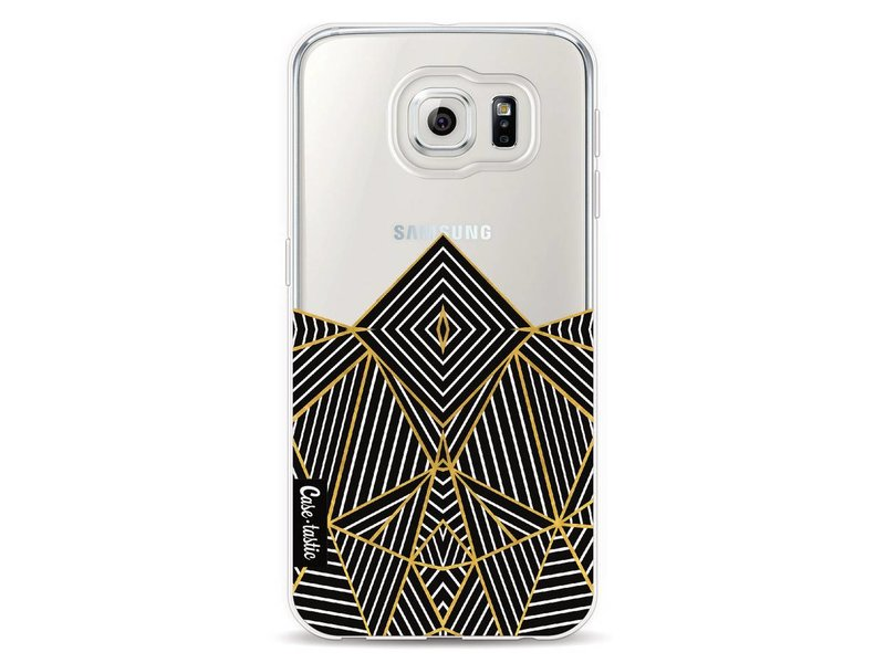 Casetastic Softcover Samsung Galaxy S6 - Abstraction Half Transparent