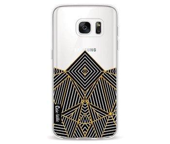 Abstraction Half Transparent - Samsung Galaxy S7