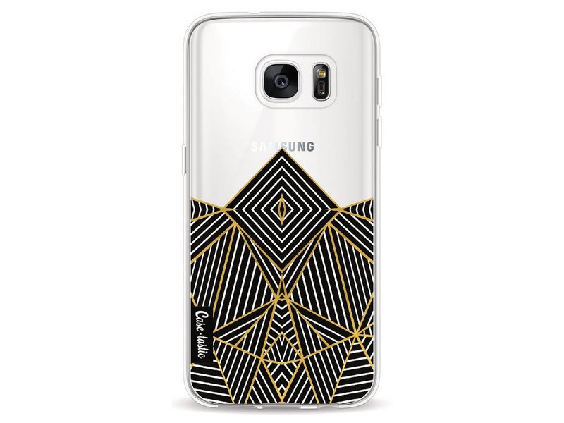 Casetastic Softcover Samsung Galaxy S7 - Abstraction Half Transparent