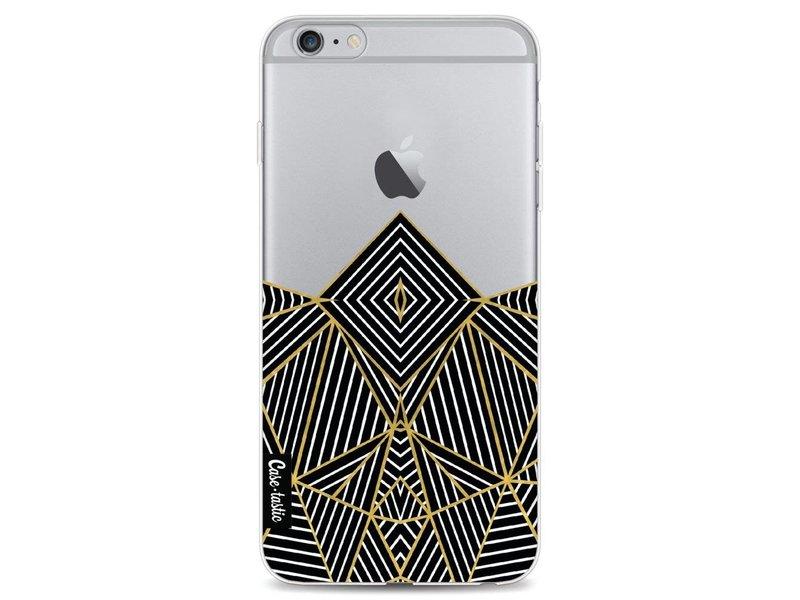 Casetastic Softcover Apple iPhone 6 Plus / 6s Plus - Abstraction Half Transparent