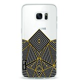 Casetastic Softcover Samsung Galaxy S7 Edge - Abstraction Half Transparent