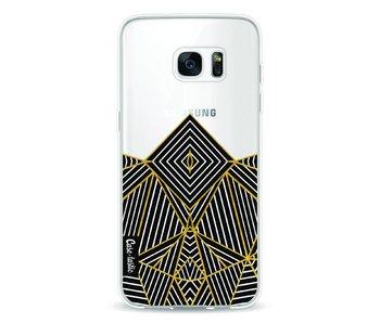 Abstraction Half Transparent - Samsung Galaxy S7 Edge