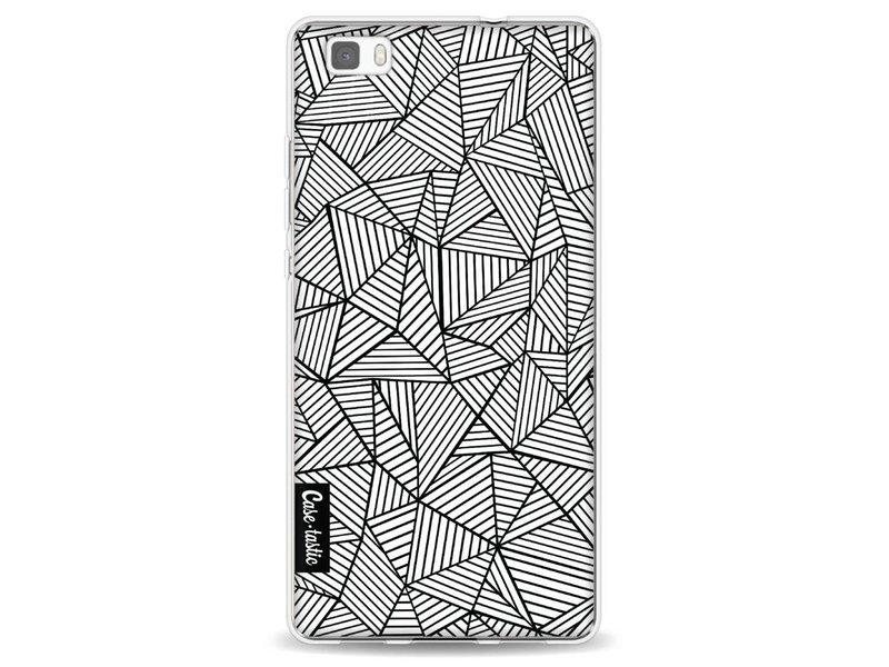 Casetastic Softcover Huawei P8 Lite - Abstraction Lines