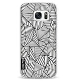 Casetastic Softcover Samsung Galaxy S7 - Abstraction Lines