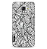 Casetastic Softcover Samsung Galaxy A3 (2016) - Abstraction Lines