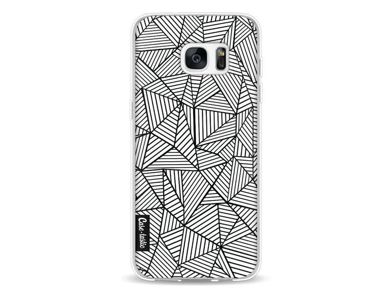 Casetastic Softcover Samsung Galaxy S7 Edge - Abstraction Lines