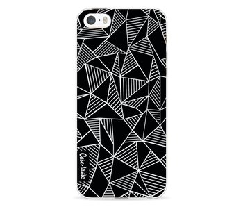 Abstraction Lines Black - Apple iPhone 5 / 5s / SE