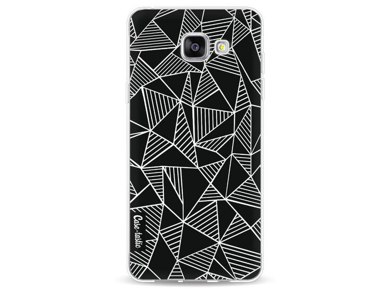 Casetastic Softcover Samsung Galaxy A5 (2016) - Abstraction Lines Black