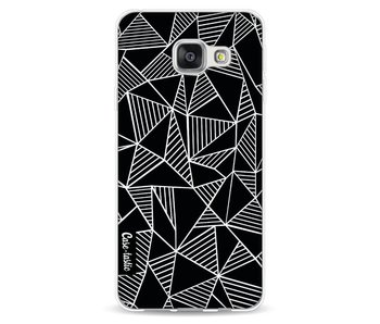 Abstraction Lines Black - Samsung Galaxy A3 (2016)