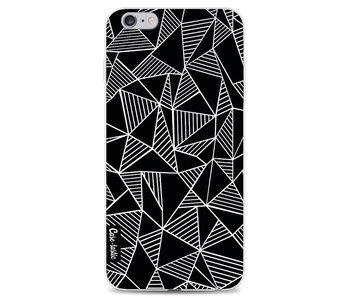 Abstraction Lines Black - Apple iPhone 6 Plus / 6s Plus