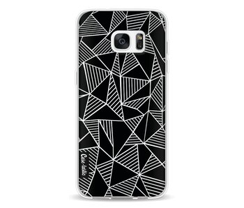 Abstraction Lines Black - Samsung Galaxy S7 Edge