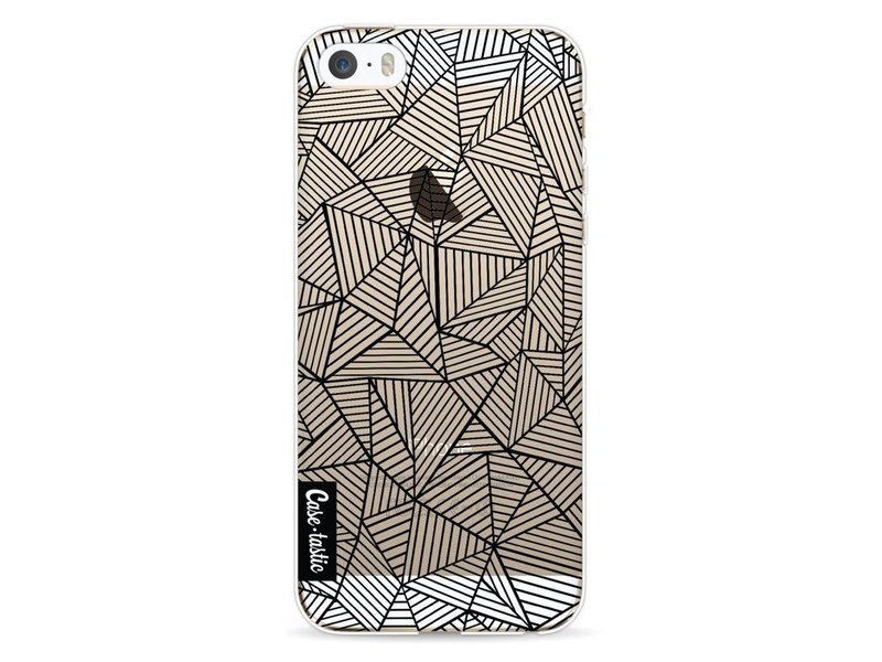 Casetastic Softcover Apple iPhone 5 / 5s / SE - Abstraction Lines Transparent