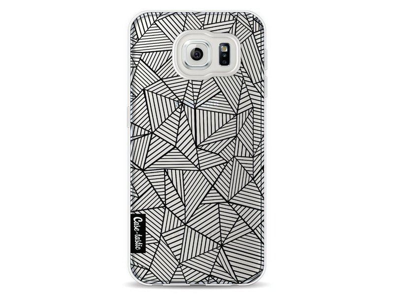 Casetastic Softcover Samsung Galaxy S6 - Abstraction Lines Transparent