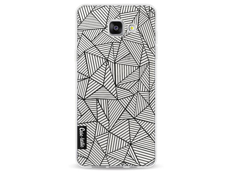 Casetastic Softcover Samsung Galaxy A5 (2016) - Abstraction Lines Transparent