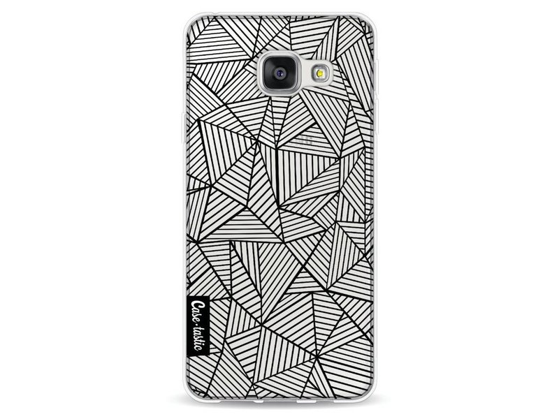 Casetastic Softcover Samsung Galaxy A3 (2016) - Abstraction Lines Transparent