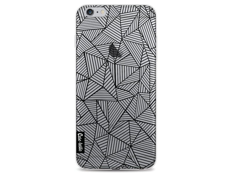 Casetastic Softcover Apple iPhone 6 Plus / 6s Plus - Abstraction Lines Transparent