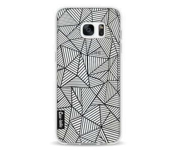 Abstraction Lines Transparent - Samsung Galaxy S7 Edge