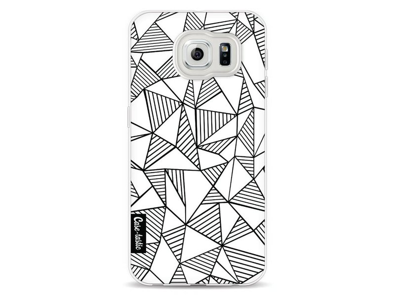 Casetastic Softcover Samsung Galaxy S6 - Abstraction Lines White